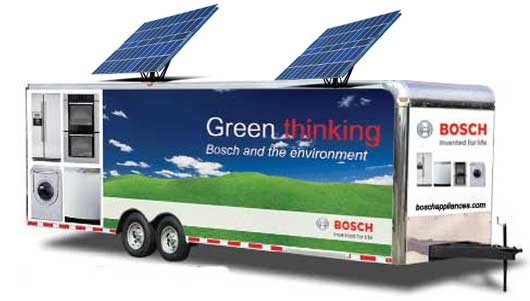 bosch green thinking green tour green event marketing